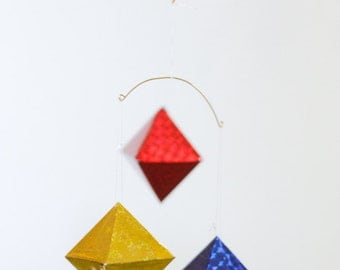 Octahedron Montessori Mobile for Infants