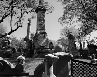 Green-wood Cemetery - Fine Art Photograph, Brooklyn, NYC