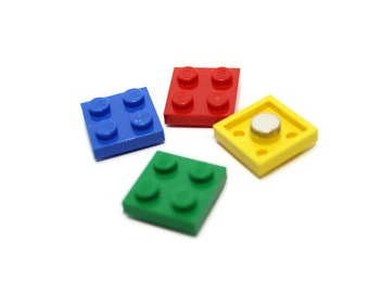 Magnet Set made from New LEGO®  Plates, Geek Magnet Set, Locker Magnets, Office Magnets - Perfect for LEGO®  Themed Party