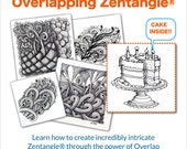 3D Tangle Overlapping Zentangle® - Download PDF Tutorial Ebook