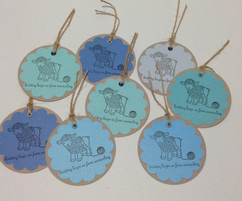 Knitting Gift Tags : Knitting gift tags set of by littlemasonjar on etsy