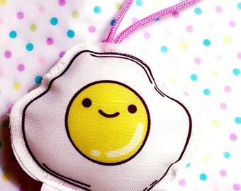 Kawaii Eggi Keychain,Accessory,Cute Keychain,Kawaii Keychain,Keychain Gift