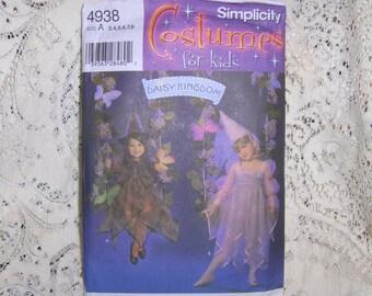 Daisy Kingdom Simplicity Fantasy Fairies Costume #4938