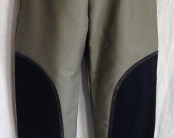 Size 4 Black and Tan Kids Pants