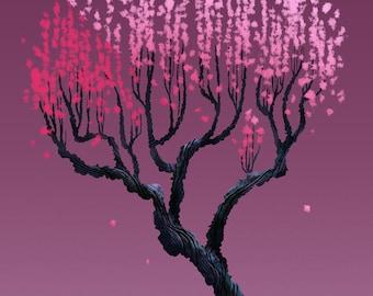 Tree Series: Cherry Blossom - Limited Edition Print