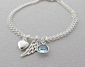 Sympathy Gift, Memorial Gift, Memorial Jewelry, Memorial Bracelet, Loss of Husband, Death of Husband, Sympathy Jewelry, Sympathy Bracelet