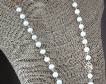 Freshwater Pearl Classic Long Necklace