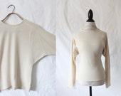 c1970's Lambswool Dolman Sweater