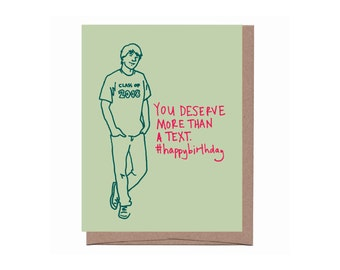 Millennial Birthday Card