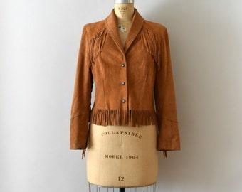 Vintage 1970s Jacket - 70s Boho Suede Fringe Jacket