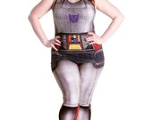 30% OFF SALE - Megatron Vest by MITMUNK - S-3XL - Official Printed G1 Transformers Sleeveless Top