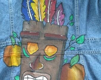 Aku Aku, Crash Bandicoot, retro games, video games, retro video games, otaku, gamer clothes, nerdy clothes, geeky clothes, otaku gifts,