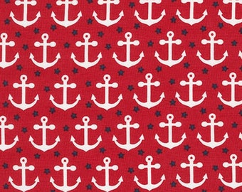 RED by Andie Hanna from Fabulous Foxes - 1 yard fabric from robert kaufman