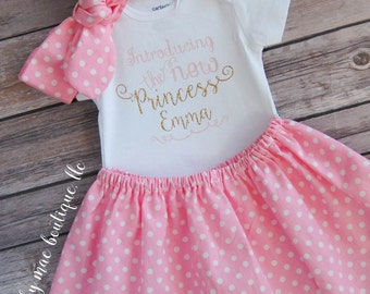 Baby Girl Outfit; Take home outfit, baby girl outfit, new baby outfit