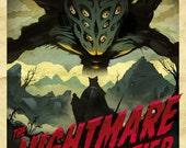 NIGHTMARE FRONTIER Video Game Poster