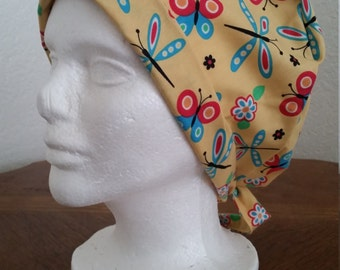 Tie-back Surgical Scrub Hat