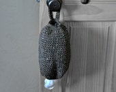 Rustic Brown Plastic Grocery Bag Holder Kitchen Organizer Modern Home Decor Spare Bag Dispenser Custom Colors