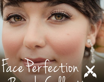 Face Perfection Lightroom Brush Collection - Presets -Skin Retouching - Fashion Photography