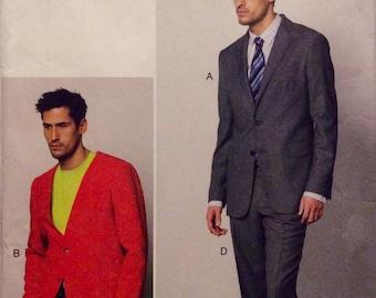 Vogue Sewing Pattern Suit Jacket Pants Shorts Contemporary 2013 Size 40-46