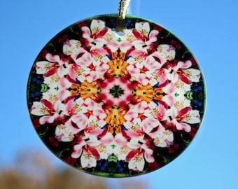 Lily Suncatcher Boho Chic Mandala New Age Sacred Geometry Hippie Kaleidoscope Tickled Pink