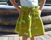 Cats and Kittens Toddler Girls Skirt Size 2T  Ready to Ship