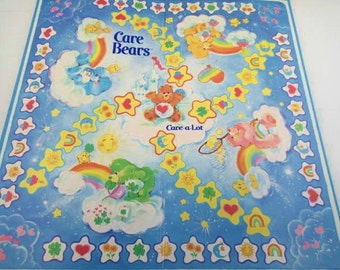 Care Bears On The Path To Care A Lot Parker Brothers Board Game Near Complete Vintages 80s Games Toys Pastel Rainbows Paper ephemera