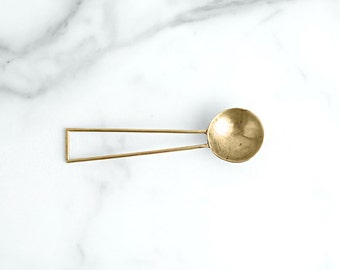 APOTHEM Brass Coffee Scoop