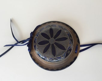 Pottery Wall Hanging Bowl By Gatormom13