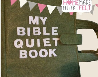 Bible Quiet Book: Felt Busy Book