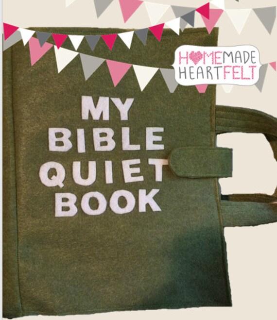 Bible Quiet Book: Felt Busy Book