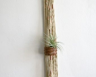 Macrame Hanging Air Plant Holder