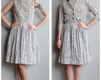 1960s Dress // Master Code Dress & Jacket // vintage 60s dress