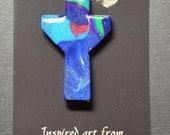 Jesus Loves Me  Transformational Cross, Free Shipping
