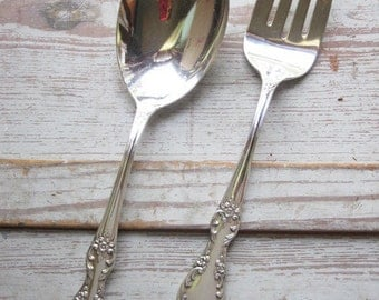 Arbutus Silver Plate Serving Pieces