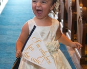"""Funny Wedding Sign """"I'm Only Here For The Cake"""" 