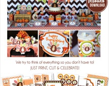 Thanksgiving Decorations | Thanksgiving Decor | Thanksgiving Party | Instant Download | Thanksgiving School Party | Amanda's Parties To Go