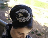 jewish headcovering,no need to wrap just tie in the back,apron tichel,israeli tichel,hair cover,hair scarf