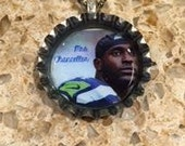 Mrs. Cam Chancellor Seattle Seahawk Bottle Cap Necklace- Proceeds Benefit Cancer Research