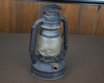 Vintage Lantern - Dietz Little Wizard Black Lantern