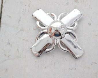 1960s Silver Cross Buckle