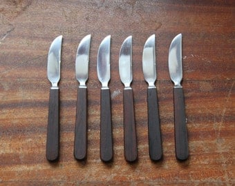 Kay Bojesen Flatware / danish design / 6 knives / uSc