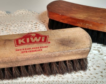2 shoe shine brushes