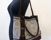 Ethnic Vintage Handmade bags  bohemian  beautiful silk stitching handbags and purses,