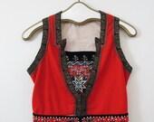 Antique Norwegian Swedish Bunad Traditional Costume