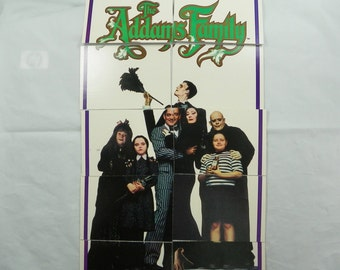 1991 Addams Family Trading Cards COMPLETE with Stickers Topps Paramount Pictures VINTAGE Adams Collectible Collectors Poster Tops