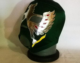 Aguila Solitaria Wrestling Mask Mardi Gras day of the dead halloween party masks Horror masquerade Classic Lucha Libre heros