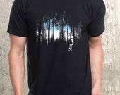 An Urban Forest - Men's Screen Printed T-Shirt