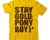 Stay Gold Pony Boy Unisex T-shirt by NIFT