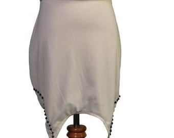 DW: Skirt001 Jersey Satin Beaded
