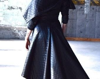 Special Order for Yasmin - Partial Payment - KASIA KULENTY Black Italian Wool thread  Jacket Coat Steampunk